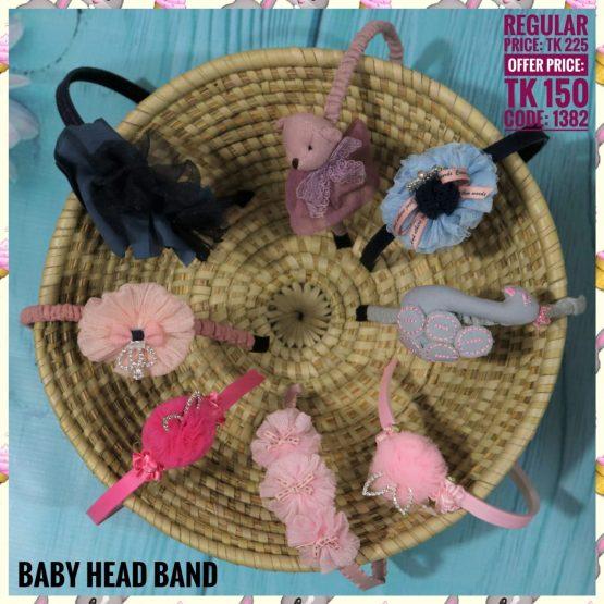 Baby Girl Head Band – 1382