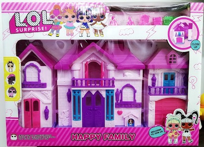 Doll House with furniture For Kids – 1343