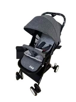 Tri-folding baby carriage trolley – T-300
