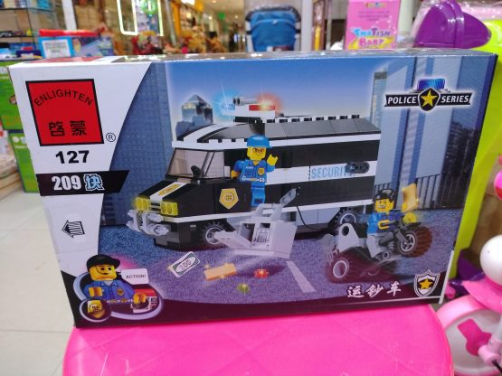Police Series Lego Set – PS-02