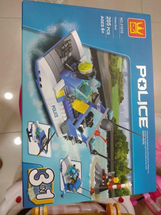3 in 1 Police Lego Set – 51015