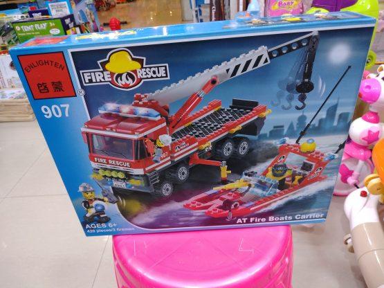 Fire Rescue Lego Set – 907