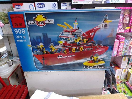 Fire Rescue Lego Set – 909