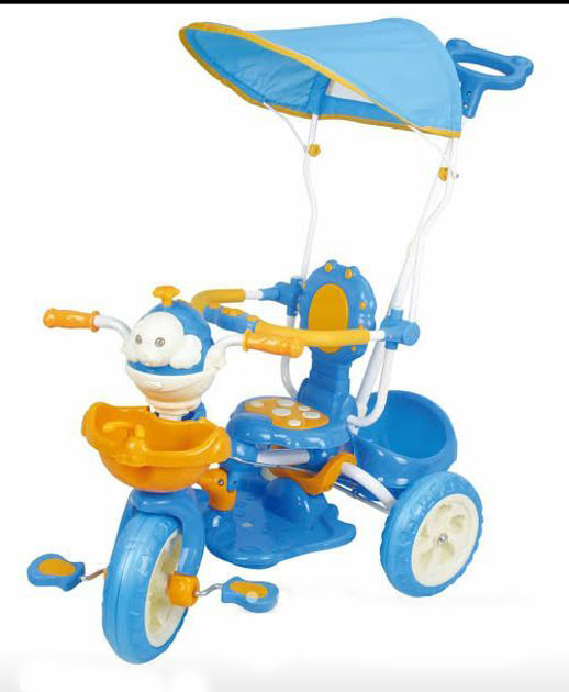 Baby Tricycle with Outdoor Shed – 9023