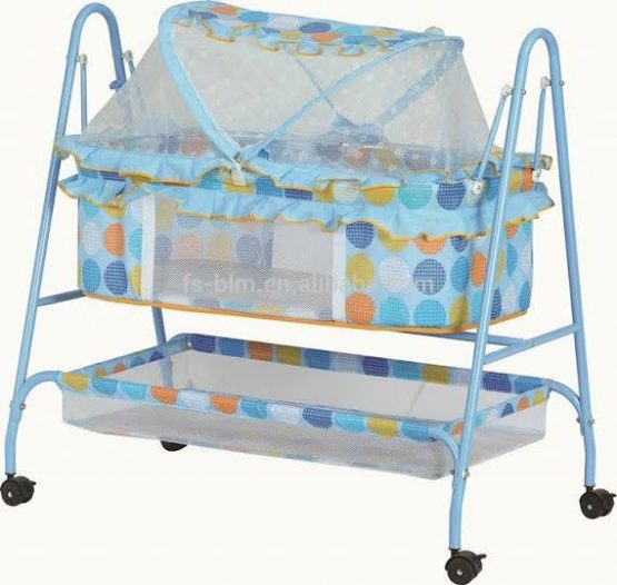 Baby Crib and Cradle with Mosquito Net – 263