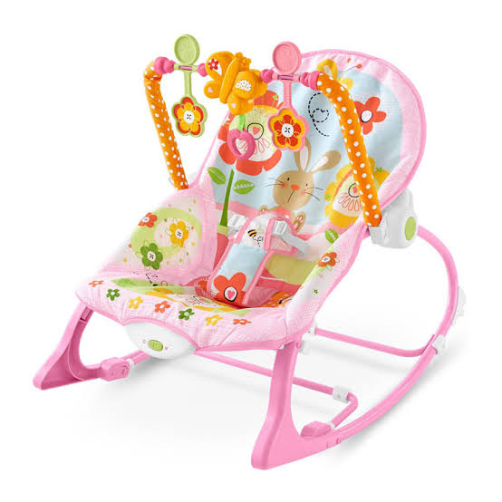 Baby Bouncer IBABY INFANT TO TODDLER ROCKER PINK – 68112