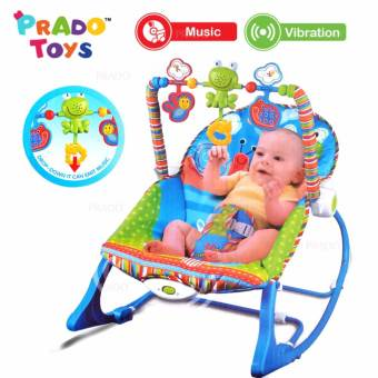 Infant to Toddler ibaby Rocker 68110 – Blue