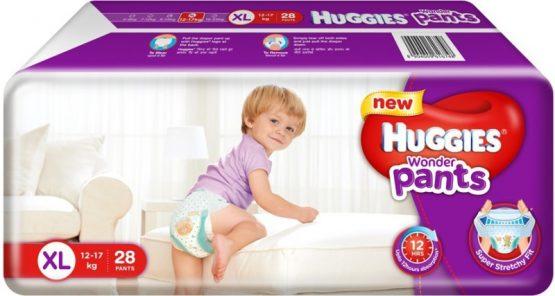 Huggies_Wonder Pants (Bubble Bed) XL – 28 pcs (12-17 Kg)