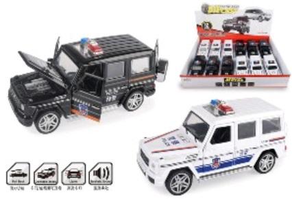 Die Cast Police Metal Car – 3212G-2