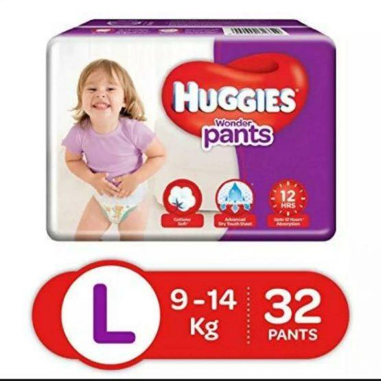 Huggies_Wonder Pant Large (9-14Kg) – 32 pcs