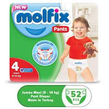 Molflix Pant Diaper Jumbo Maxi (9-14 Kg) – 52 pcs
