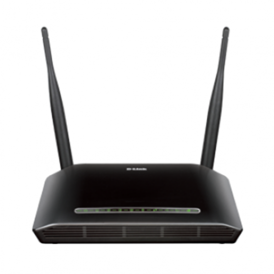 D-Link DSL-2750U Wireless ADSL N300 Mbps Dual Antenna Router