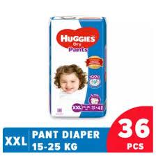 Huggies Dry Pant Diaper XXL-36 Pcs (15-25 KG)