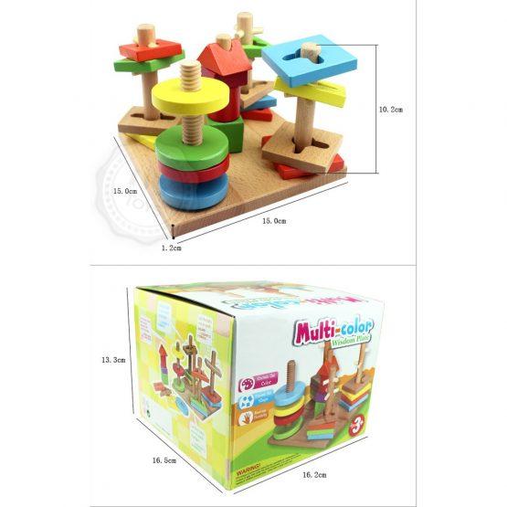 Multi Color Wisdom Plate For Kids