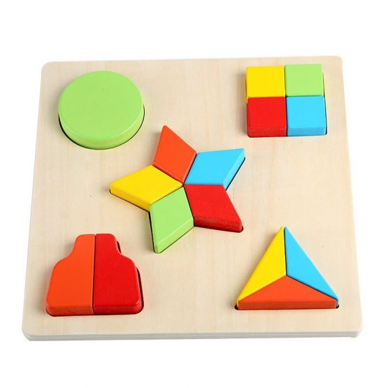 Geomatric Shape Learning Toys for Kids