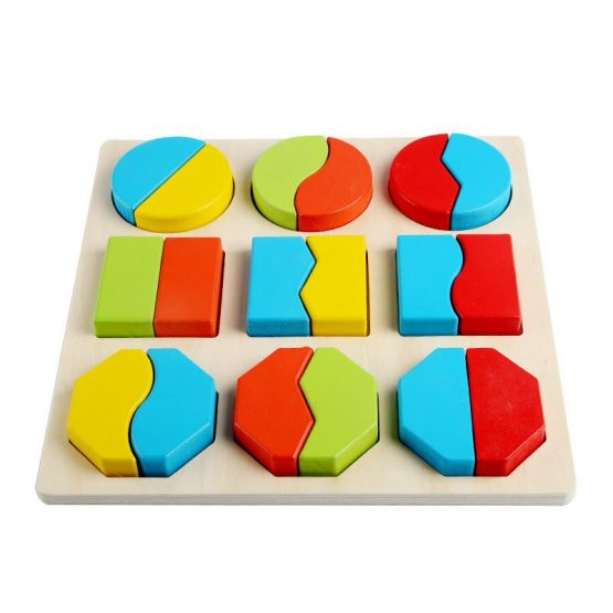 Early Education Geometric Shape Learning Toys for Kids