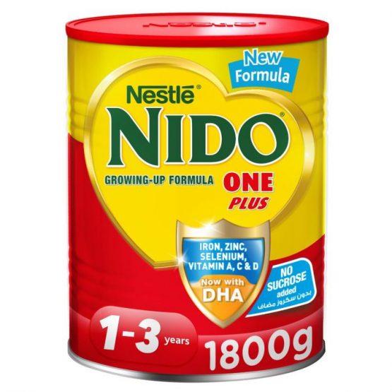 NIDO Milk powder(1-3 years) 1800GM – DUBAI