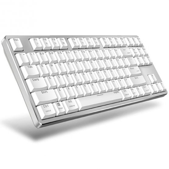 Rapoo MT500 Backlit Mechanical Keyboard White
