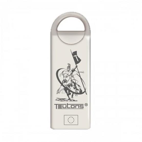 TEUTONS METALLIC KNIGHT FINDER SILVER 32GB USB 3.1 GEN 1 SILVER
