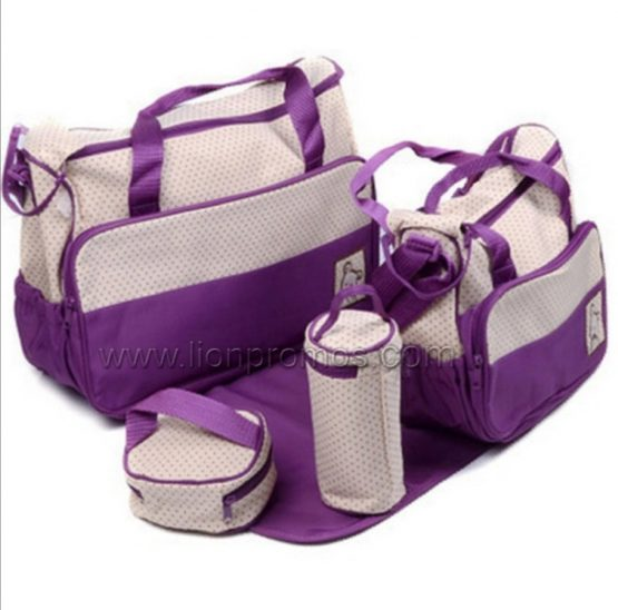Baby Diaper Fashionable Bag Hand Bag Is Fashionable Waterproof & Washable