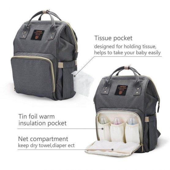 iFlashDeal Baby Diaper Bag Mummy Backpack