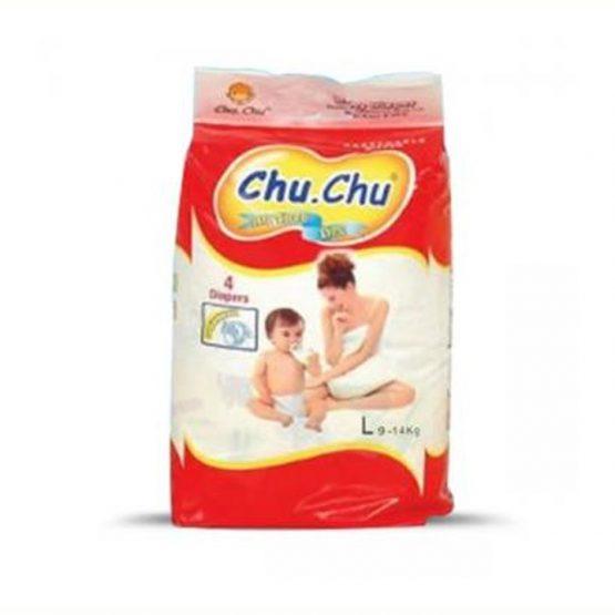 Chu chu All Time Dry L(9-14kg)12pcs