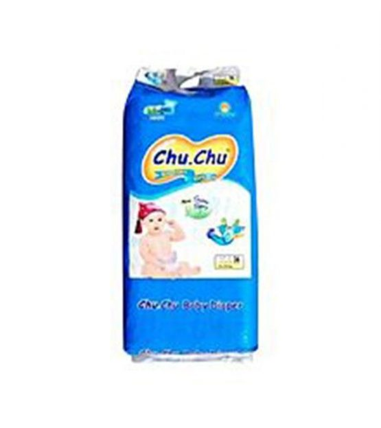 Chu.Chu Breathable baby diaper – M (6- 11kg) – 5 pieces