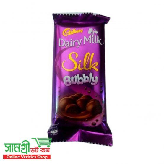 Cadbury Dairy Milk Silk Bubbly Chocolate 50g