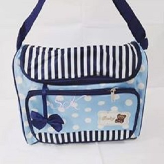 Grey Daiper Bag For Baby