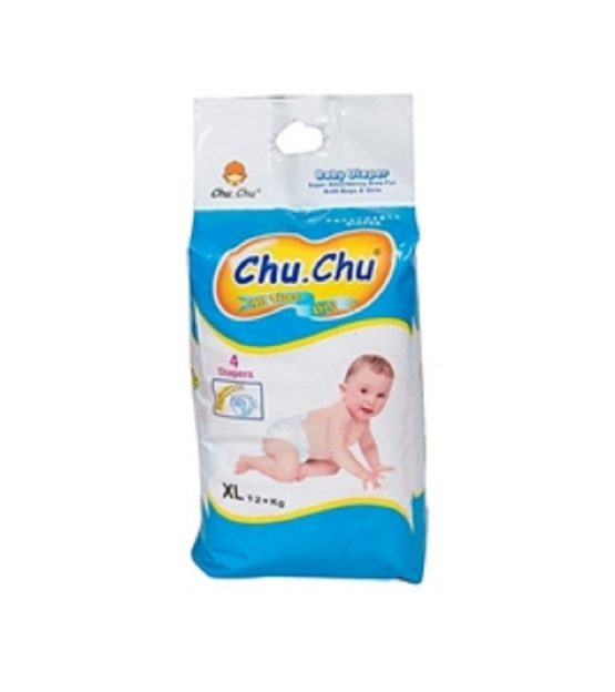 Chu Chu Diaper Pull-up pant diapers-pant style-XL(12-Plus kg) -5 Pcs