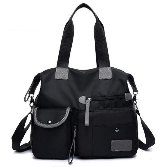Multifunction Large Capacity Nylon Mummy Handbags Baby Diaper Bags For Stroller Organizer