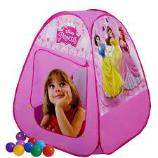 Disney Princess Baby Tent House with 100 Balls