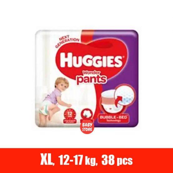 Huggies Ultra Pant Diaper Extra Large (Xl) 38 Pcs (12 – 17 Kg)