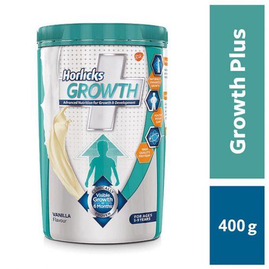 Growth Plus Vanilla – 400gm Jar