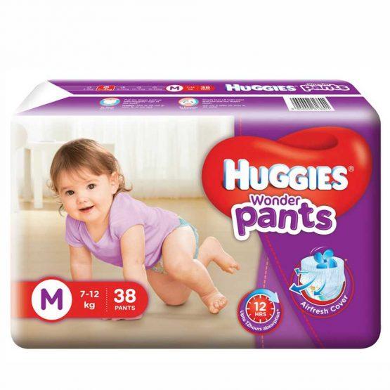 Huggies_Wonder Pants (Bubble Bed) M – 38 pcs (7-12 Kg)