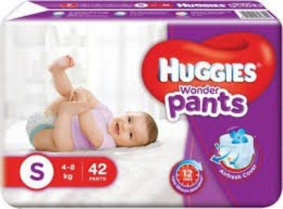 Huggies_Wonder Pants (Bubble Bed) S – 42 pcs (4 – 8 Kg)