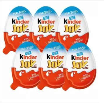 Kinder Joy Chocolate (Boys) 6 Pcs – (20gx6) – 120g