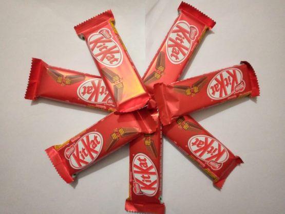 Kitkate 2 Finger Chocolate Wafer 18gm Full box (40 pcs)