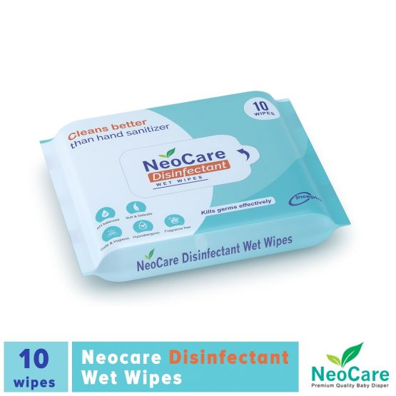 Neocare Disinfectant Wipes – 10 pcs