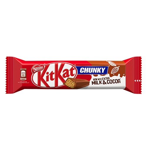 Nestle KitKat Chunky Milk Chocolate Bar 46g