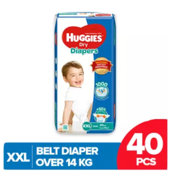 Huggies Dry Belt Diaper Extra Extra Large (Xxl)-40 Pcs (Over 14 Kg)