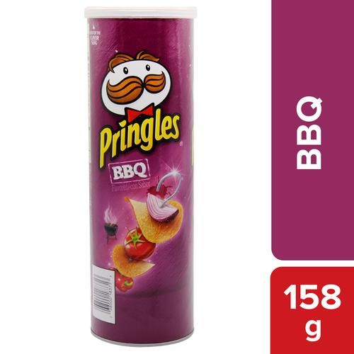 Pringles_BBQl Potato Chips 158g (big)