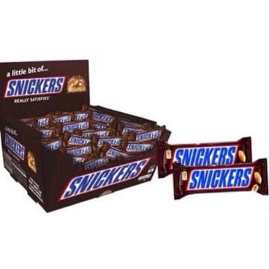 Snickers 20 piece Box ( 20 x 18) 360g