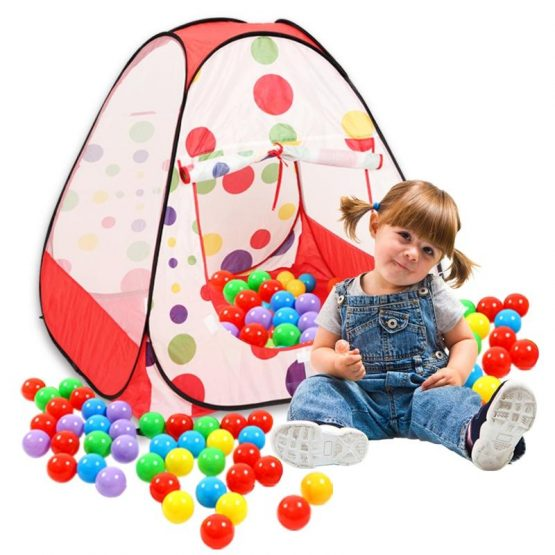 Baby Tent Play House With 50 pcs plastic balls
