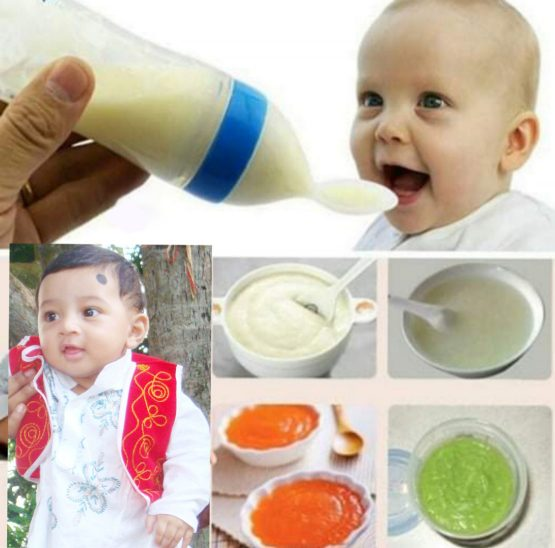 Infant Silicon Baby Bottle spoon 90ml-Multicolor