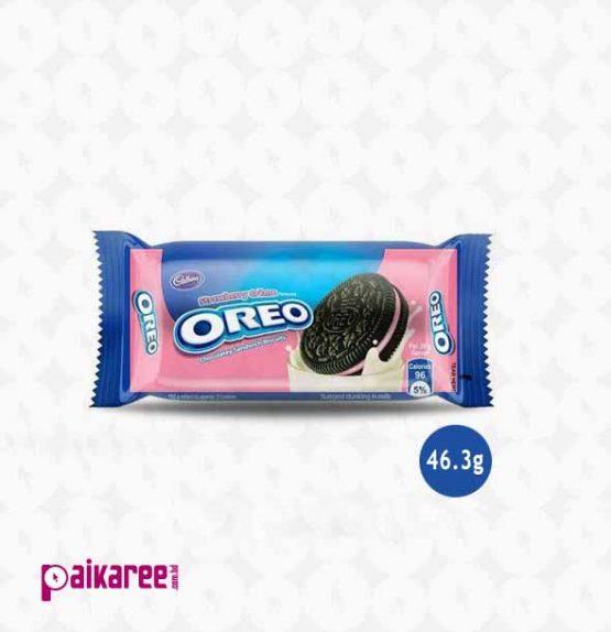 Oreo Cadbury Strawberry Creme Biscuits – 46.3g (India)