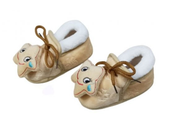 Baby shoe organic cloth Multicolor (6-12 Months)