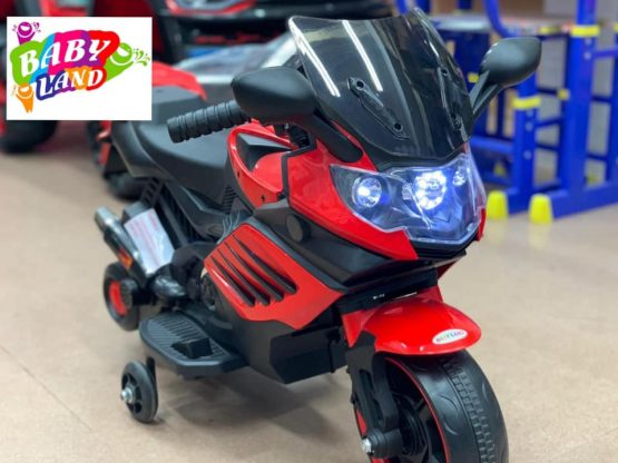 Baby Motor Cycle With Supporting Wheel
