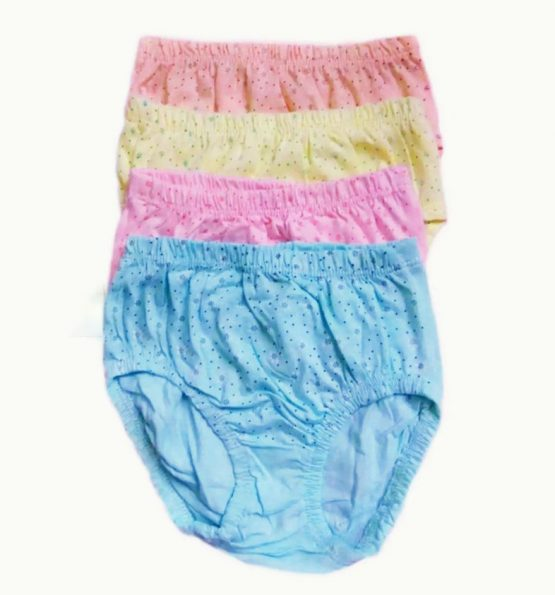 Baby Cotton Pant Medium(4-10months)-4 pcs