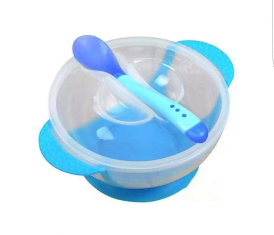Baby Feeding Spoon and Bowl